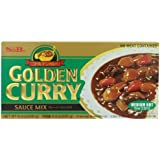 S&B Golden Curry Sauce Mix, Medium Hot, 8.4-Ounce