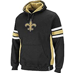 New Orleans Saints Passing Game II Fleece Hooded Sweatshirt by VF by VF