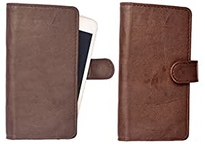 R&A Wallet Case Cover for Sony Xperia go