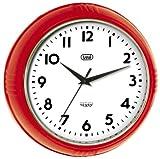 Acquista Trevi 3314 Orologio da Parete - Original Sixty classico retrò - 24,5cm Rosso