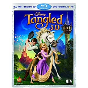 Tangled Blu Ray