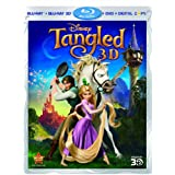 Tangled 3D (4-Disc Combo Pack) [Blu-ray 3D + Blu-ray + DVD + Digital Copy]by Mandy Moore