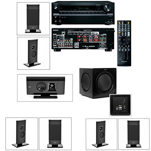 Klipsch Gallery G-12 7.1 Home Theater System-Sw-310-Onkyo Tx-Nr636 7.2Channel