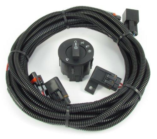 2013-2014 Ford Mustang Fog Light Wiring & Switch Kit