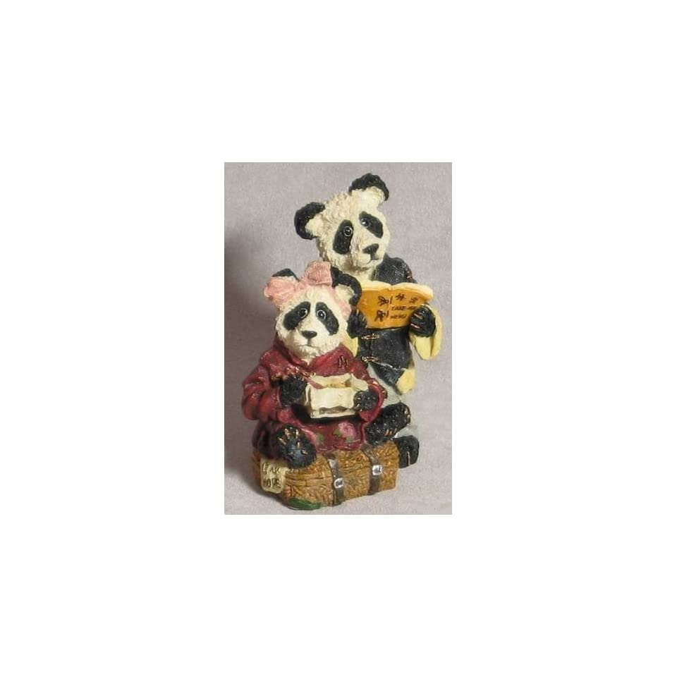 Boyds Bears & Friends   Hsing Hsing and Ling Ling Wongbruin  Carryout   Style # 2433