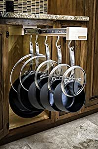 Glideware Pull-out Cabinet Organizer for Pots and