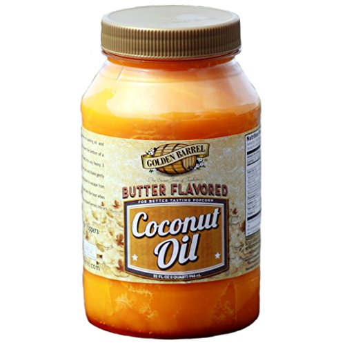 Golden Barrel Butter Flavored Coconut Oil (32 oz.) (Coconut Butter For Popcorn compare prices)