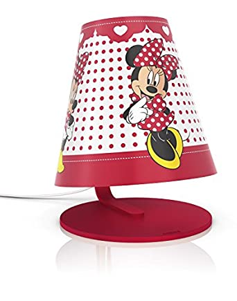 Philips Disney Minnie Mouse Children's Table Lamp - 1 x 4 W Integrated LED