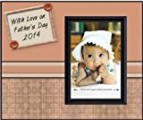 Fathers Day 2014 Plaid - Picture Frame Gift