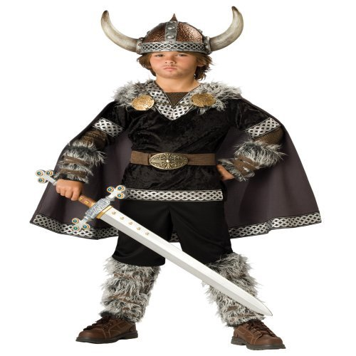 In Character Costumes, LLC Boys 2-7 Viking Warrior