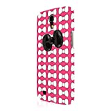 EMPIRE Signature Series Slim-Fit Case �tui Coque for Samsung Galaxy Mega 6.3 - Hot Pink Rosa Bow-Tique (Films de protection �cran Included)