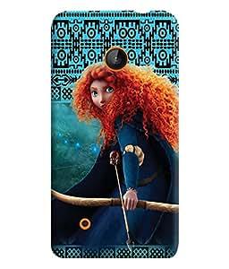 PrintVisa Cute Cartoon Girl Alice 3D Hard Polycarbonate Designer Back Case Cover for Nokia Lumia 530