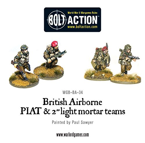 WGB-BA-34 British Army: British Airborne PIAT and Light Mortar teams