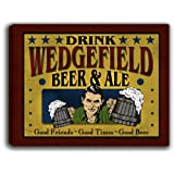 WEDGEFIELD, FL Beer & Ale 14'' x 11'' Collectible Stretched Canvas