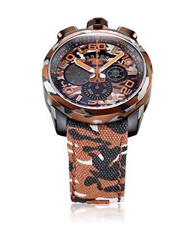 Bomberg Reloj con movimiento cuarzo suizo Man Bolt68 Sahara 45 mm