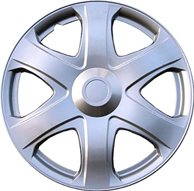 "Drive Accessories KT-1019-16S/L, Toyota Matrix, 16"" Silver Replica Wheel Cover, (Set of 4)"