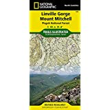 Linville Gorge, Mount Mitchell [Pisgah National Forest] (National Geographic Trails Illustrated Map)