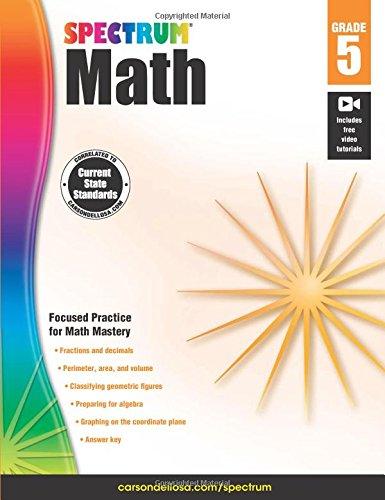 Spectrum Math Workbook, Grade 5 (Advantage Math Grade 4 compare prices)