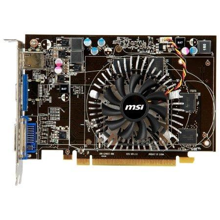 MSI R6670-MD1GD5 Radeon HD 6670 Graphics Card (1GB, DVI, HDMI, VGA)