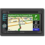 Kenwood DNX5120 6.1-Inch-Wide Double-DIN In-Dash Navigation with USB/iPod Direct Control/DVD Receiver