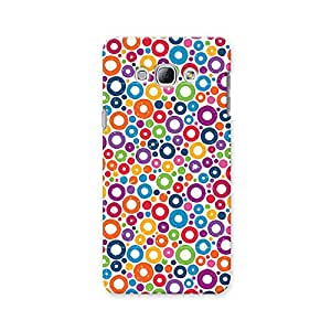 ArtzFolio Colorful Circles : Samsung Galaxy A8 Matte Polycarbonate ORIGINAL BRANDED Mobile Cell Phone Protective BACK CASE COVER Protector : BEST DESIGNER Hard Shockproof Scratch-Proof Accessories
