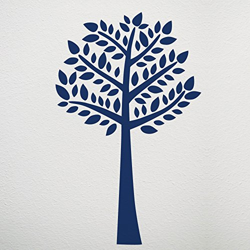 CoCaLo Connor Jumbo Tree Wall Decal Set, Navy Blue