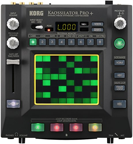 Cheap Korg Kaossilator Pro+ Dynamic Phrase Synthesizer and Loop Recorder