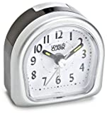Lewis N. Clark Lite Touch Analog Travel Alarm Clock , Gray , One Size