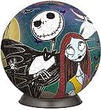3D球体パズル 60ピース ジャックのクリスマス 2024-224
