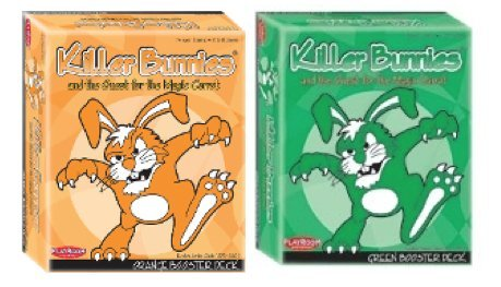 Killer Bunnies Orange Green Booster Set (Killer Bunnies Quest Green compare prices)