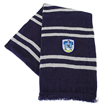 Harry Potter Ravenclaw Scarf - Midnight Blue and Grey