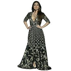 Astha bridal women new design lehenga( BLACK DONGRE INDO_black colour_42)