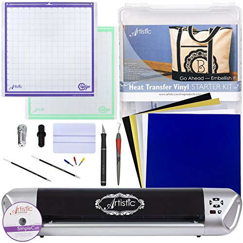 Janome Artistic Edge 15IN Craft Cutter and Starter Kit Bundle (Heat Transfer Starter Kit) (Janome Mat compare prices)