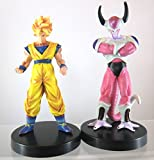 FIGURINE DRAGON BALL Z - lot de 2 FIGURINES hauteur : 14 cm