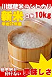 埼玉県産 白米 コシヒカリ 20kg (5kg×4) 川越蔵米 (未検査米) 平成27年産