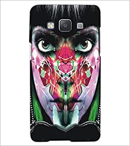 PrintDhaba Bright Eyes D-5450 Back Case Cover for SAMSUNG GALAXY A5 (Multi-Coloured)