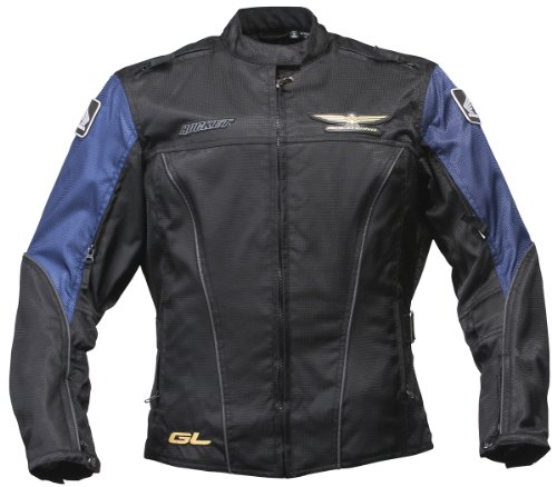 Honda Goldwing Ladies Deals Gap Jacket Bk/D.Bu Sm
