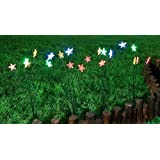 Creative Motion 4X 5-Light Star Light With Multicolor Led Solar