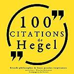 Philosophie pour tous : 100 citations de Hegel   G. W. F. Hegel