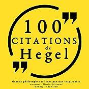 100 citations de Hegel | G. W. F. Hegel