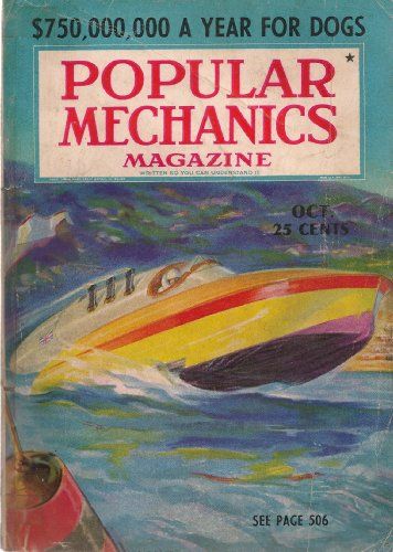 Popular Mechanics Magazine October 1937 (Solving The Riddles Of Crime, The Master Minds Of Radio, Million-Pound Telescope For Star Gazers At The Top Of Mount Palomar In Ca, Diving Goes Modern With Craig-Nohl Diving Dress, New San Francisco-Oakland Bridge,