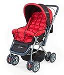 LuvLap StarShine Baby Stroller - Red