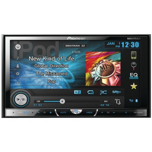 The Amazing Pioneer 7In 2Din Rcvr
