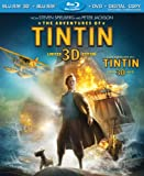The Adventures of Tintin 3D / Les Aventures de Tintin 3D : Le Secret de la Licorne (Bilingual) [Blu-ray 3D + Blu-ray + DVD + Digital Copy]