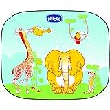 Chicco Pare soleil Latéraux 44X36 Cm Décor Éléphants X 2 Pièces