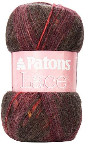 Patons Lace Yarn, Bonfire