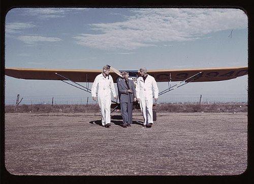 Photo Civilian pilot training school, returning from practice flight, Meacham Field, Fort Worth, Tex. 1939