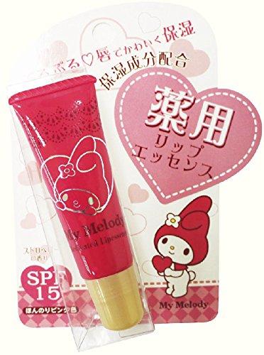サンタン 薬用リップエッセンス マイメロディ SPF15 ストロベリーの香り 8g