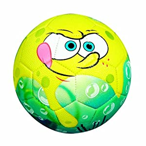 Franklin Sports Nickelodeon SpongeBob SquarePants Size 3 Air Tech Soccer Ball #5467