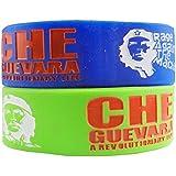 Eshoppee Che Guevara Bracelet Wrist Band Set Of 2 Pcs For Man And Women